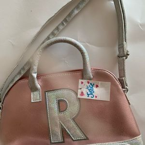 "💥 NWT Justice ""R"" purse bag"